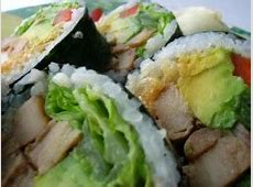 Chicken Sushi Roll Recipes! Are you joking?