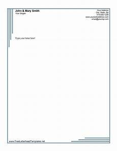 Letterhead Free Template 45 Free Letterhead Templates Amp Examples Company