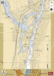 Mohawk River Depth Chart Mohawk River Hudson River Marine Chart Us14786 P1038