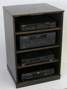 oak tv stand stereo cabinet 33 inches high
