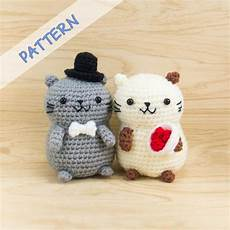 cat amigurumi crochet pattern snacksies handicraft