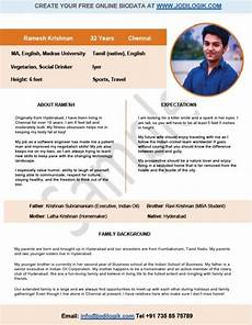Biodata For Marriage Sample Biodata Format For Marriage 15 Templates 7 Samples