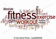 Words Related To Fitness Fitness Word Cloud Fitness Concept Word Cloud Background