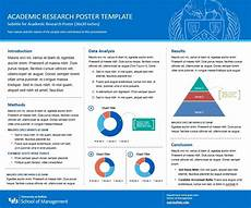 Academic Poster Template Powerpoint Research Posters School Of Management University At