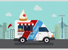 Vector Ice Cream Truck   Download Free Vectors, Clipart