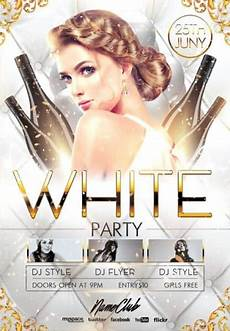 Free All White Party Flyer Template Elegant White Party Free Flyer Template Download Flyer