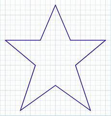 Graph Paper Star What Are Some Tips For Drawing A Star On A Graph Paper