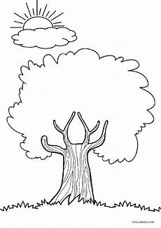 Malvorlagen Herbst Baum Free Printable Tree Coloring Pages For