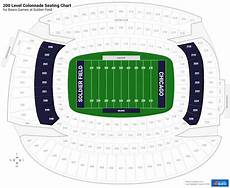 Soldier Field Virtual Seating Chart 200 Level Colonnade Soldier Field Football Seating