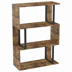 Lillyvale Wood Bookcase Bookshelf S Shape 6 Tier Shelves by Ironck Bookshelf And Bookcases 3 Tier Display Shelf S