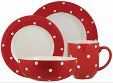 Discontinued Spode Baking Days Red Dinnerware