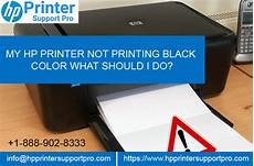 Hp Printer Not Printing Black My Hp Printer Not Printing Black Color What Should I Do
