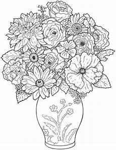 Ausmalbilder Blumenvase Blumenvasen Ausmalbilder F 252 R Kinder 8