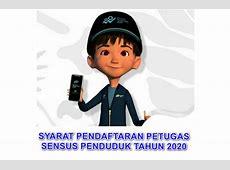 Persyaratan Pendaftaran Petugas Sensus 2020