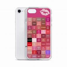 Lipsense Login Lipsense Lipstick Lip Color Chart Blocks Phone Case