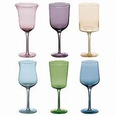 bicchieri colorati bicchieri colorati stile e allegria in tavola modelli e