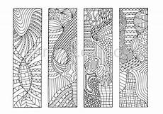 Malvorlagen Lesezeichen Kostenlos Coloring Bookmarks To Print 12 Zentangle Inspired Printable