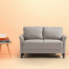 zinus jackie classic upholstered 53 5 inch
