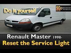 Renault Master Service Light Reset Renault Master Nissan Primastar 1998 Service Light