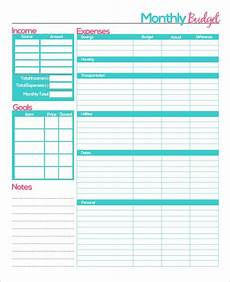 Monthly Budget Template Free 23 Sample Monthly Budget Templates In Google Docs