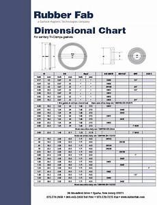 Sanitary Fitting Size Chart Sanitary Gasket Literature Rubberfab