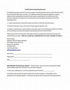 Small Business Questionnaire 9 Small Business Questionnaire Templates In Pdf Free