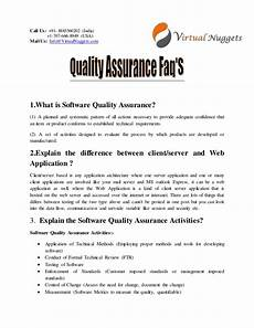 Quality Assurance Interview Questions And Answers Quality Assurance Interview Questions And Answers