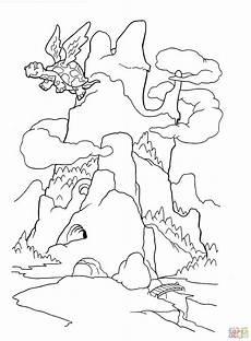 ausmalbild der drachenberg ausmalbilder kostenlos zum