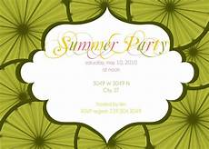 Summer Party Invitations Templates Summer Party Invitation Wording Samples Custom Party