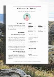 Creative Word Cv Templates Creative Cv Template For Word R 233 Sum 233 Template For Word