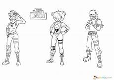Fortnite Malvorlagen Free Fortnite Coloring Pages Print Heroes From The For Free