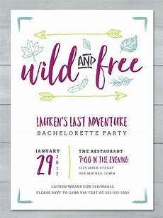 Online Party Invitation Templates 14 Printable Bachelorette Party Invitation Templates