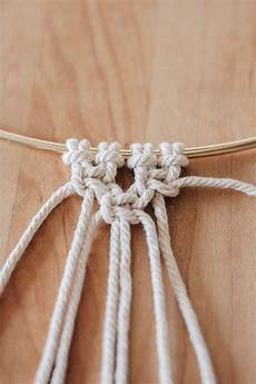 basic macrame knots step by step guide decor hint