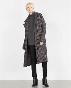 zara coats winter sale pins image 1 of herringbone coat from zara herringbone coat