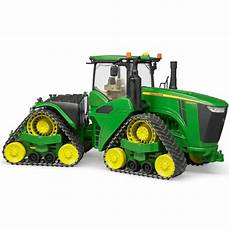 bruder traktor deere 9620rx mit real de