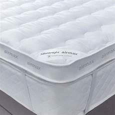 silentnight airmax 600 mattress topper silentnight
