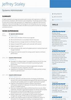 Server Admin Resume Systems Administrator Resume Samples And Templates
