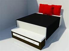 revitcity object foot of bed bench with storage