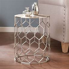 southern enterprises clarissa metal accent table on sale