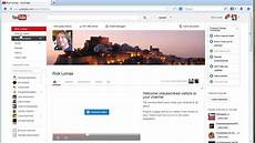 You Tube Web Page How To Link Your Youtube Channel To Your Website New