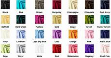 pretty dresses color chart color chart for taffeta fabric the blue fuchsia orange