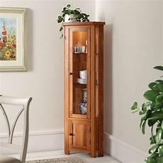 Light Oak Corner Display Cabinet Homestead Living Rayleigh Solid Oak Corner Display Cabinet