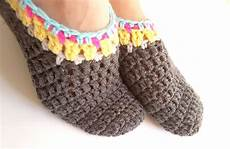 project 018 crochet slippers for adults free crochet