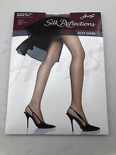 Silk Reflections Size Chart Hanes Silk Reflections Silky Sheer Barely There
