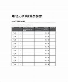 Sales Log Template Sales Log Template 5 Free Word Documents Download