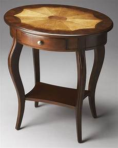 oval accent table plantation cherry 0532024 oval accent table from butler