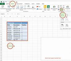 How To Create A Timeline In Excel Excel Timeline How To