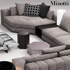 Sofa Chairs For Bedrooms 3d Image by Minotti Freeman Seat 3d Max Living Room Sofa Design