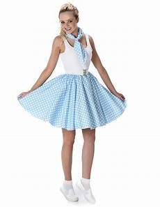 Light Blue Costume Light Blue Fifties Costume For Women Adults Costumes And