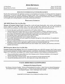 Resume Example For Call Center Call Center Agent Resume